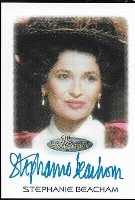 Autographed Stephanie Beacham as the Countess Card From ...