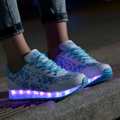 womens light up sneakers womens light up shoes with styles playzoa