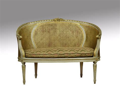 louis xvi style canape 180 settee 459722 sellingantiques co uk