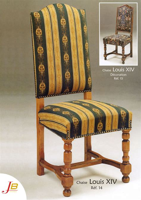 Style Louis Xiv Chaise
