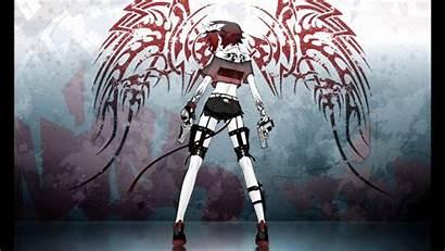 Devil Demon Anime Wings Female Wallpapers Nightcore
