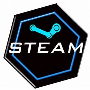 Custom Neon Steam Icon by EnteringTheNethery on DeviantArt
