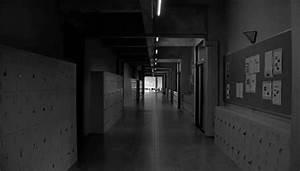 black and white hallway gif | WiffleGif