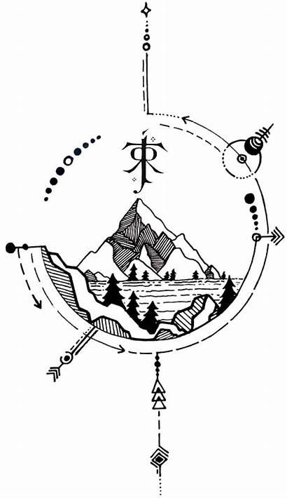 Tattoo Lotr Tolkien Hobbit Tattoos Lord Rings
