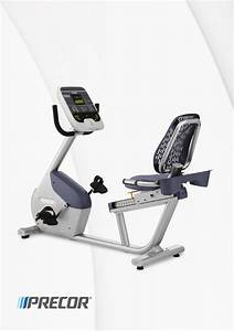Precor Exercise Bike Ubk 615 User Guide