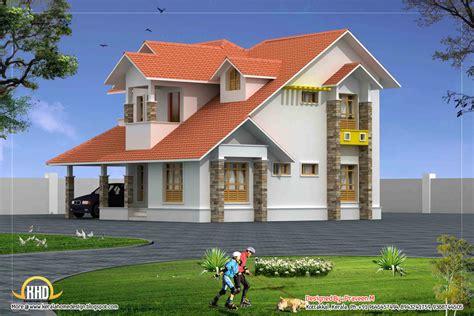 Duplex House Elevation  2250 Sq Ft  Kerala Home Design