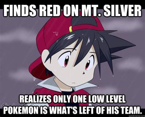 Pokemon Trainer Red Meme - pokemon silver memes image memes at relatably com