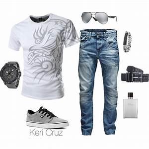 Menu0026#39;s casual by keri-cruz on Polyvore featuring DC Shoes Armani Exchange Ray-Ban Jack u0026 Jones ...