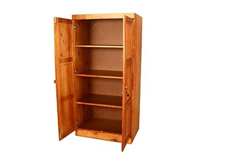 Wardrobe With Shelves Only by Wardrobes De Beers Furniture