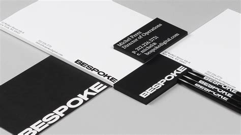 New Logo & Brand Identity For Bespoke By Dia Business Cards Durban Cape Town Card Uv Dimensions Notepad Online Quick Quality Paper