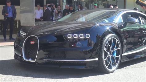 Bugatti Chiron Startup by Bugatti Chiron Sound Cold Start In Monaco