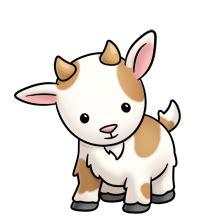 goat  clip art clip art farm clipart