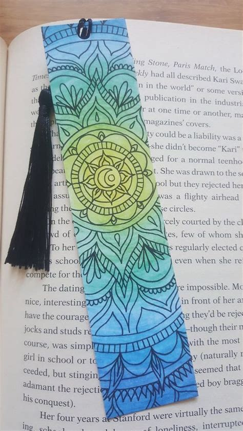 handmade diy bookmark designs  ideas bookmarks