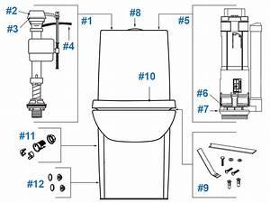 Kohler Saile Toilet Repair Parts