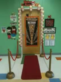 Hollywood Theme Classroom Door