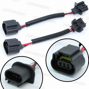 H13    9008 Wiring Harness Socket Connector Plug Extension