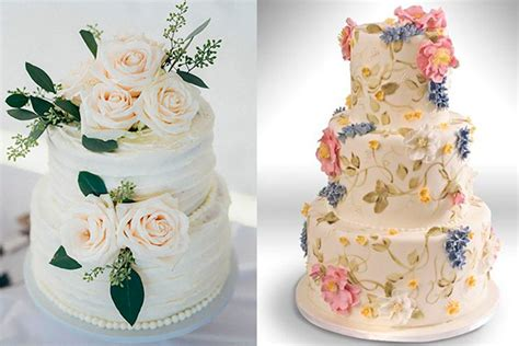 Fabulous Wedding Cakes With Flowers