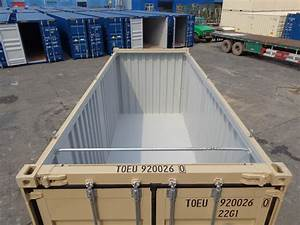 Used 40 foot open top high cube shipping containers for for 40 ft trusses for sale