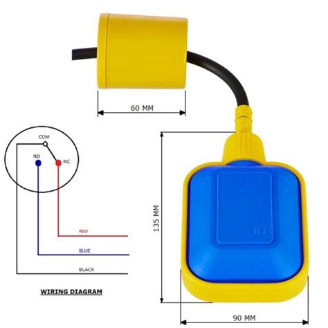 Roinco Cable Float Level Switch Sensor For Water