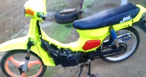 Suzuki Rc 100 Modifikasi by Modifikasi Motor Suzuki Rc 100 Terbaru Lebih Menawan