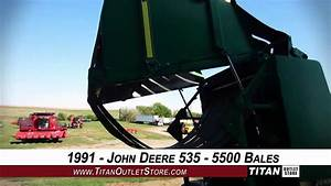 John Deere 535 Belt Type 5500 Bales Of Use  2k Max Bale Wt