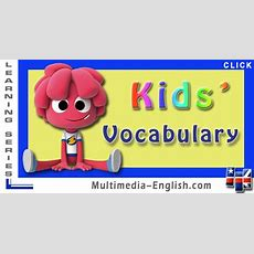 English For Kids  Vocabulary [multimediaenglish]