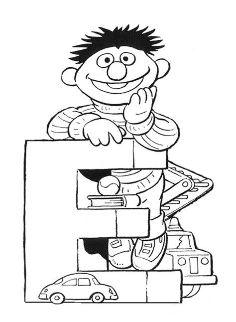 Kids-n-fun.com | 12 coloring pages of Sesame Street Bert