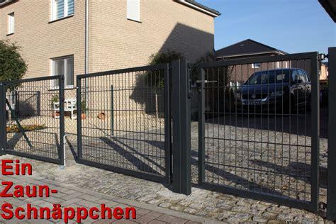 Tor Für Einfahrt by Doppelstabmatten Tor Set 6 5 6 Doppelfl 252 Geltor Ab 359 00eur