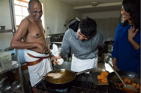 cuisine priest washington post reporter from tamil nadu vegetarian family