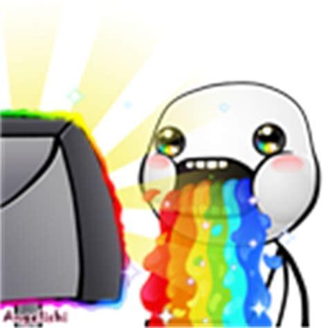 Throwing Up Rainbows Meme - puking rainbows by atrainbow wolf on deviantart