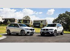 BMW X5 Old v New comparison Secondgeneration E70 v third