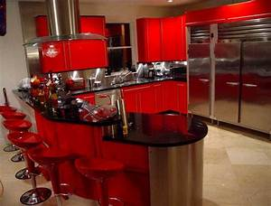 red black kitchen decor kitchen and decor With black and red kitchen designs