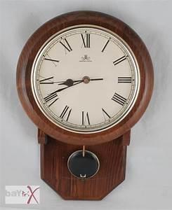 Wanduhren Mit Pendel Antik : wanduhr meister anker mit pendel holz metall pendeluhr alt ~ Watch28wear.com Haus und Dekorationen