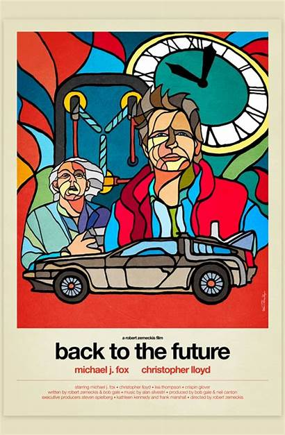 80s Terminator Stained Glass Bttf Robocop Makeover