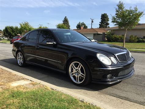Beautiful Black Supercharged Mercedes E55 Amg