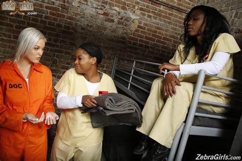 Jenna Ivory Fucks Two Horny Black Girls In Prison 1 Of 1