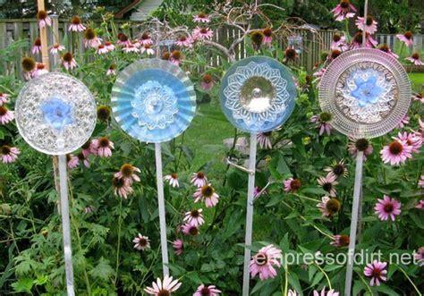 glass garden art flowers  drill