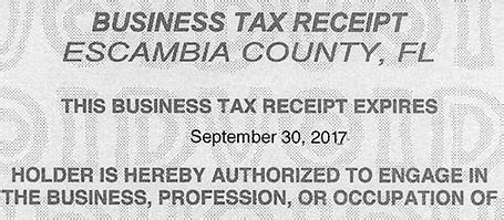 over 23 000 business tax receipt notices headed to