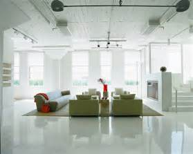floors and decor loft apartment decorating ideas glossy floors and colorful accessories