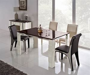 stainless steel dining room table marceladickcom With stainless steel dining table set