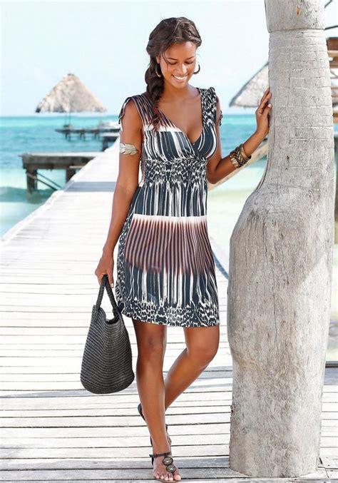 lascana strandkleid  kaufen otto