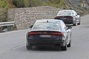 Audi S7 Sportback : 2019 audi s7 sportback spied during high altitude testing autoevolution ~ Medecine-chirurgie-esthetiques.com Avis de Voitures