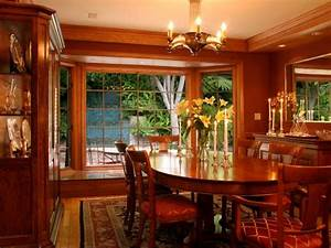 Living Room Light Fixtures Rich Wood Formal Dining Room With Large Bay Window Oval