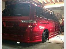 Stanced minivan Minivans can be cool, right? Pinterest