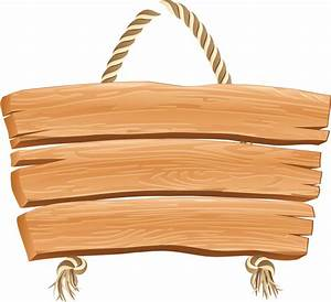 HANGING WOODEN BLANK SIGN | ClipArt: Signs & Scrolls ...