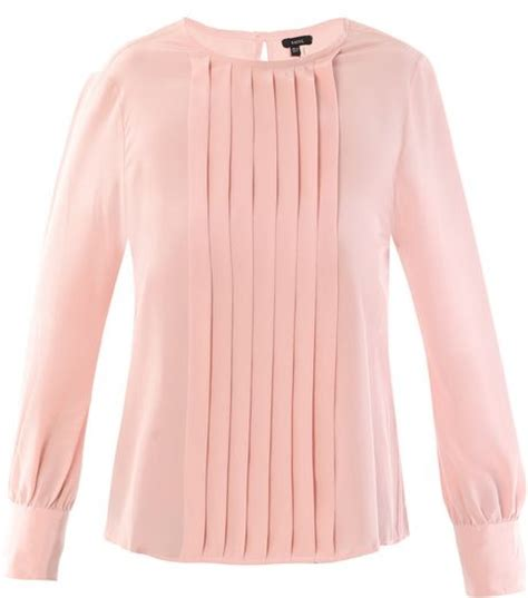 blush blouse raoul silk georgette blouse in pink blush lyst