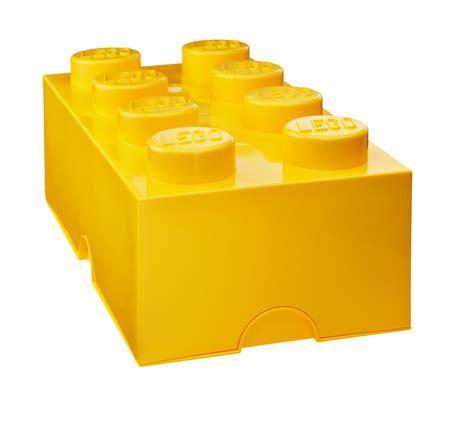 achat fourniture bureau boite de rangement lego jaune kollori com