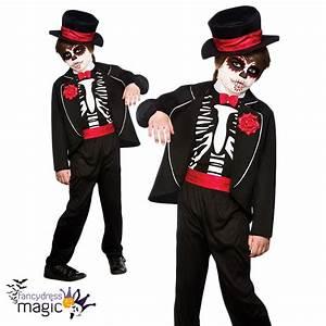 Halloween Skelett Kostüm : jungen halloween kost m tag der toten skelett kost m ~ Lizthompson.info Haus und Dekorationen