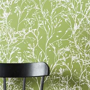 150 coole tapeten farben ideen teil 1 archzinenet With balkon teppich mit gruene tapeten