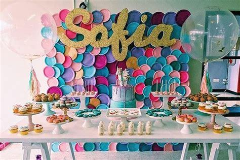 decoration salle anniversaire  ans fille